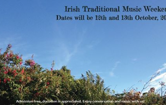 Irish traditional Music Weekend